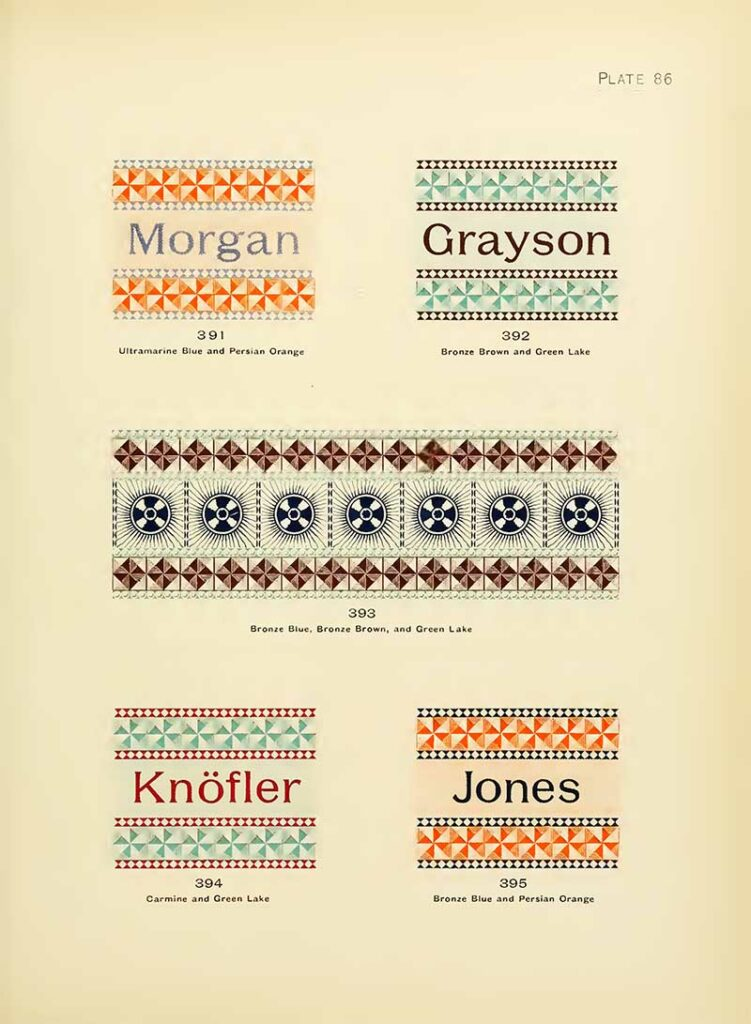 Typography and pattern