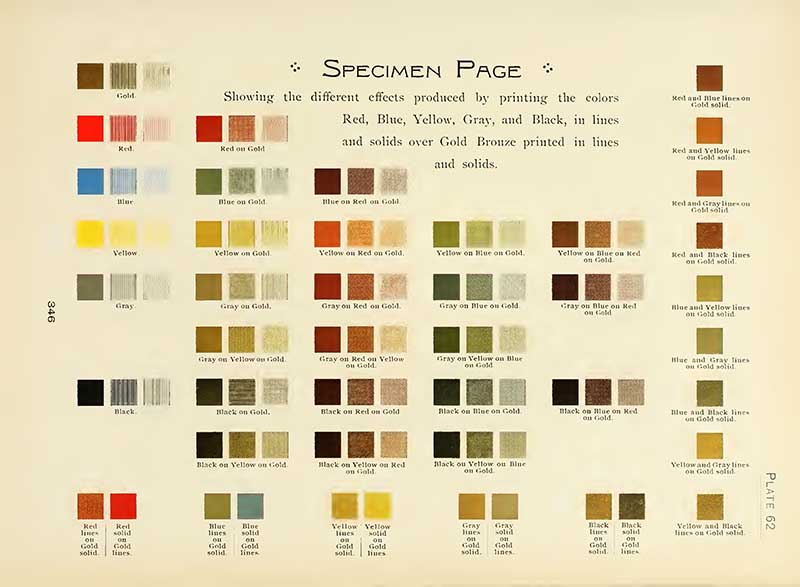specimen page
