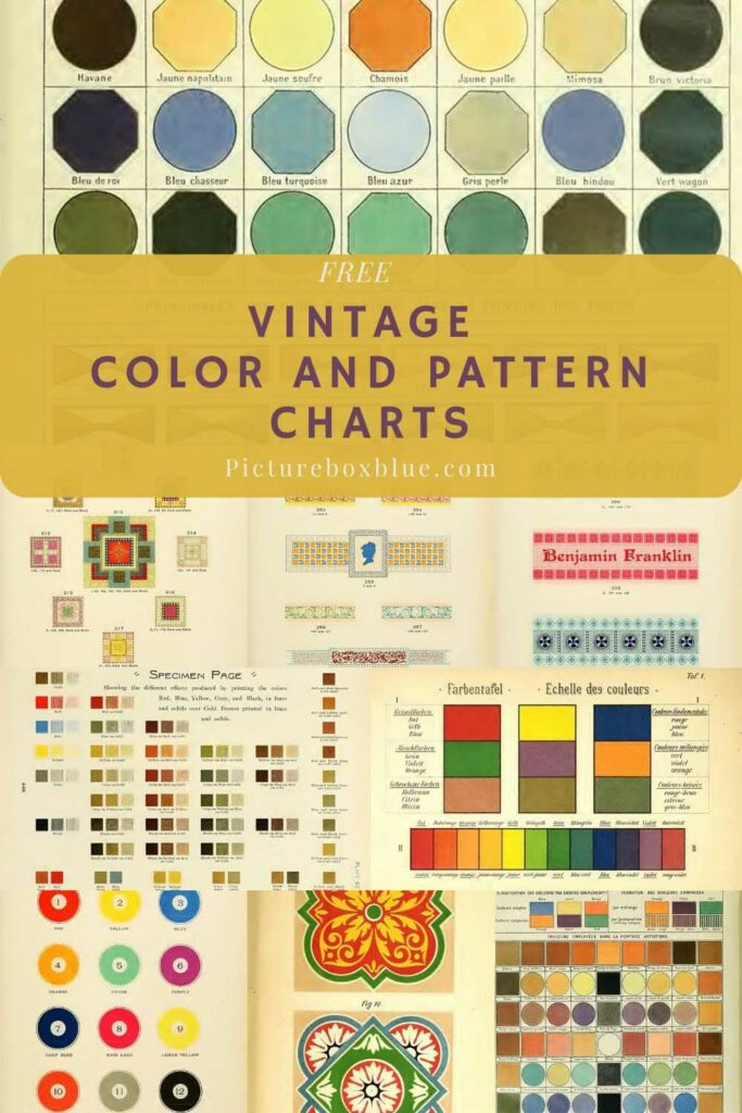 vintage-color-pattern-charts