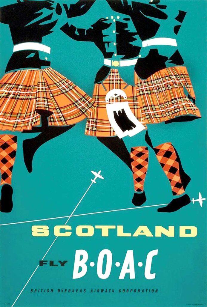 BOAC-Scotland-Airline-Poster