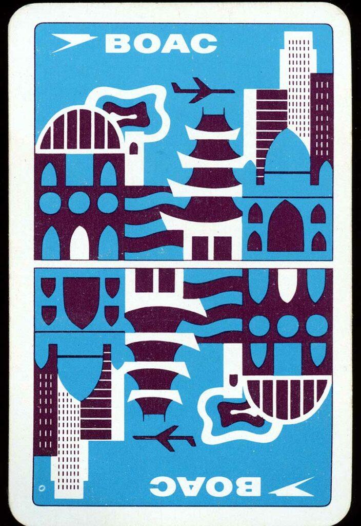 BOAC travel Sticker