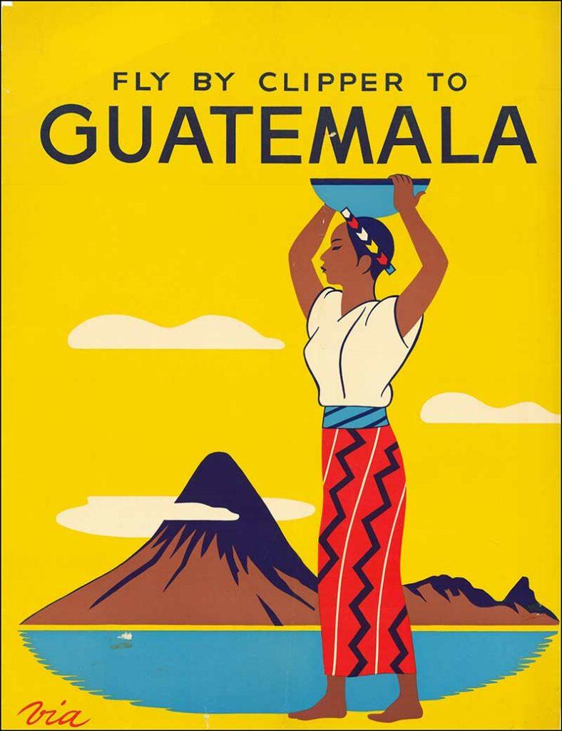 Pan Am Guatemala Advert