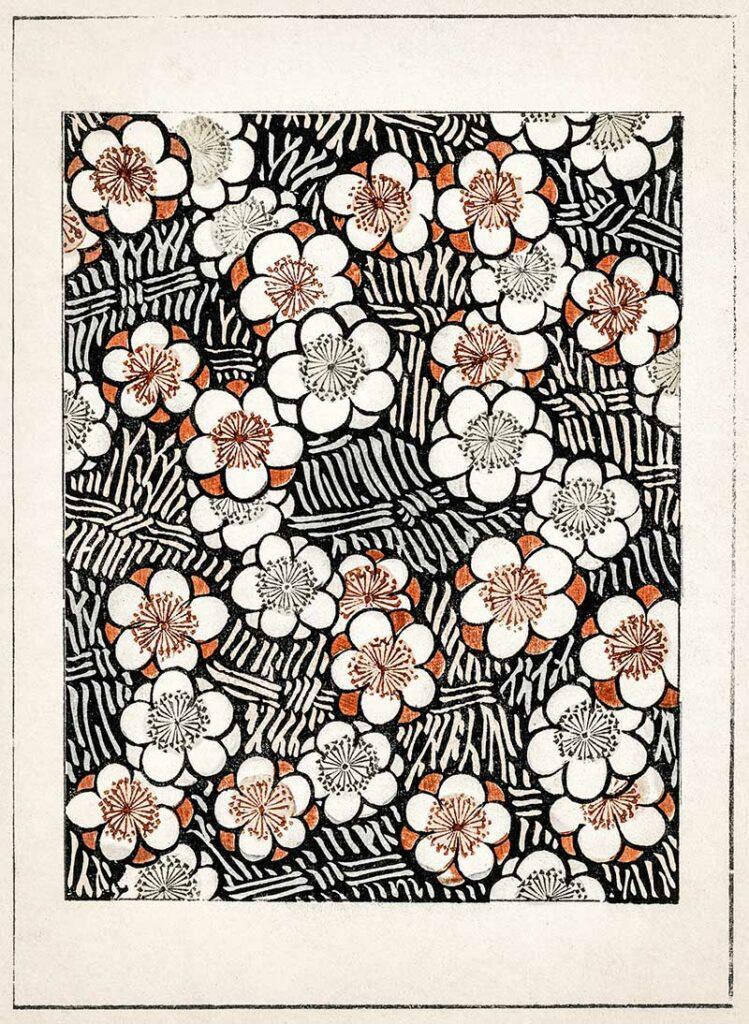 Floral Pattern Watanabe_Seitei