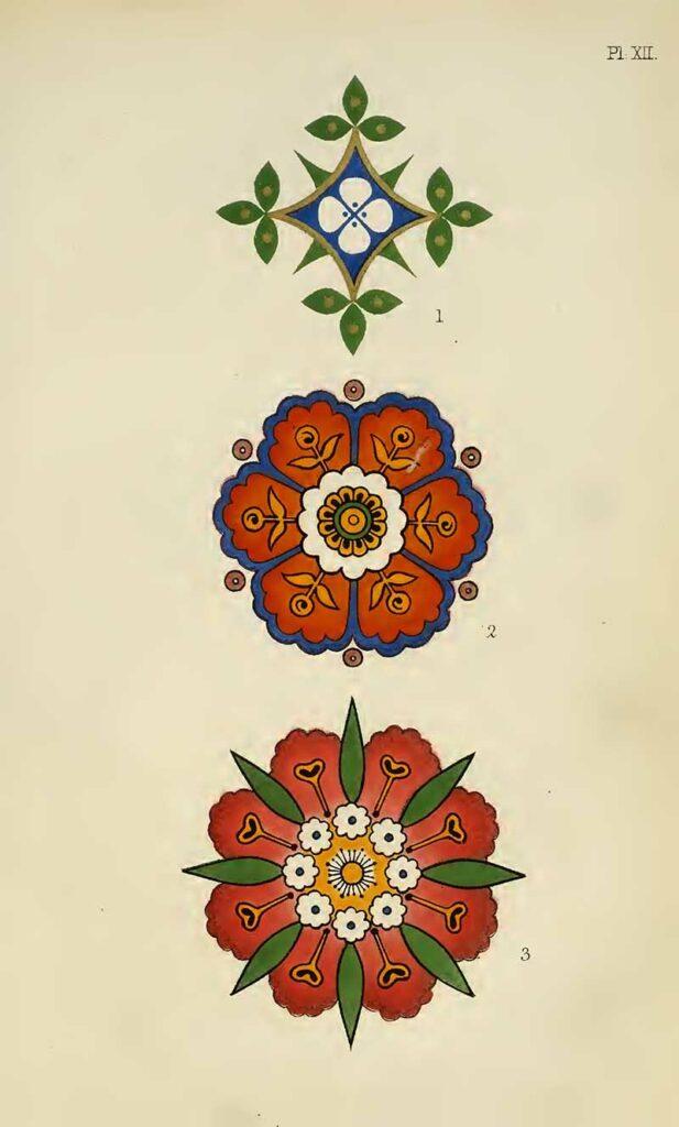 Floral design alternation