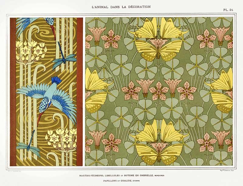 kingfishes wallpaper pattern