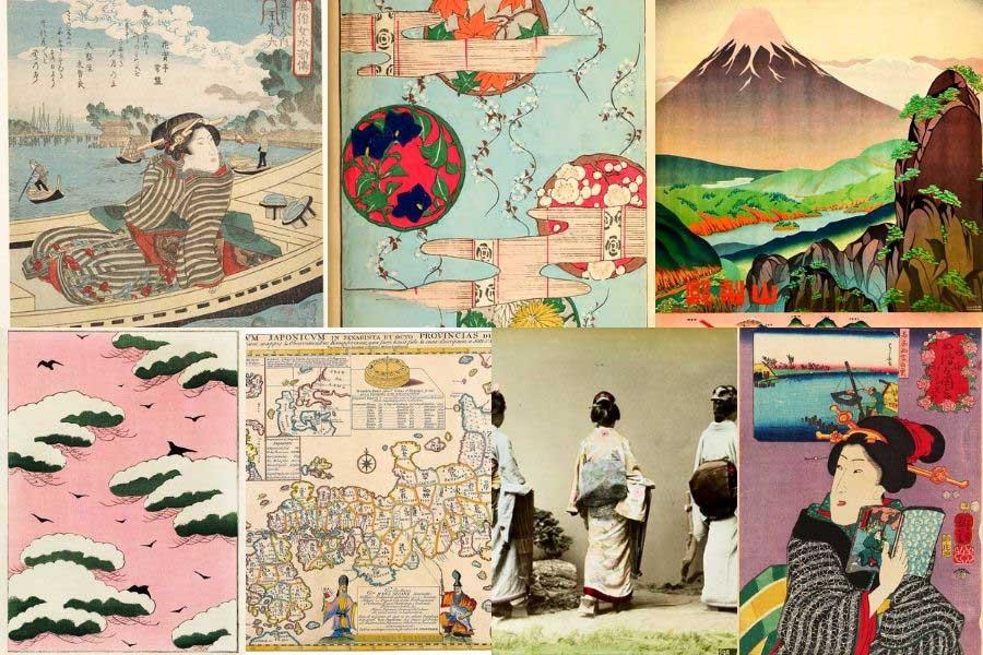 Japanese Vintage prints