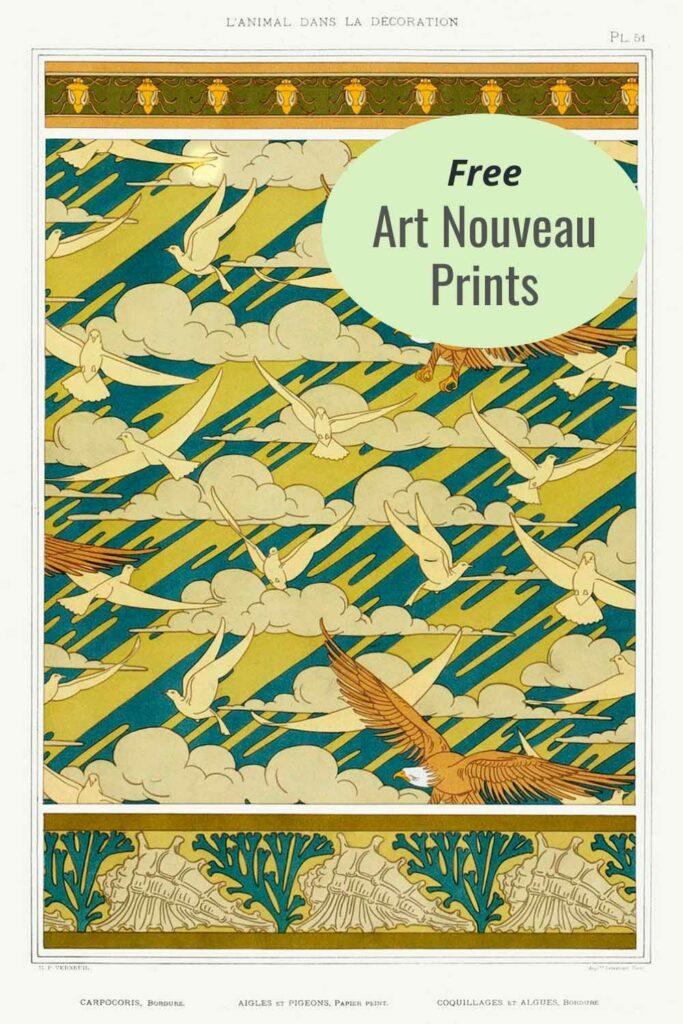 Free Art Nouveau Prints