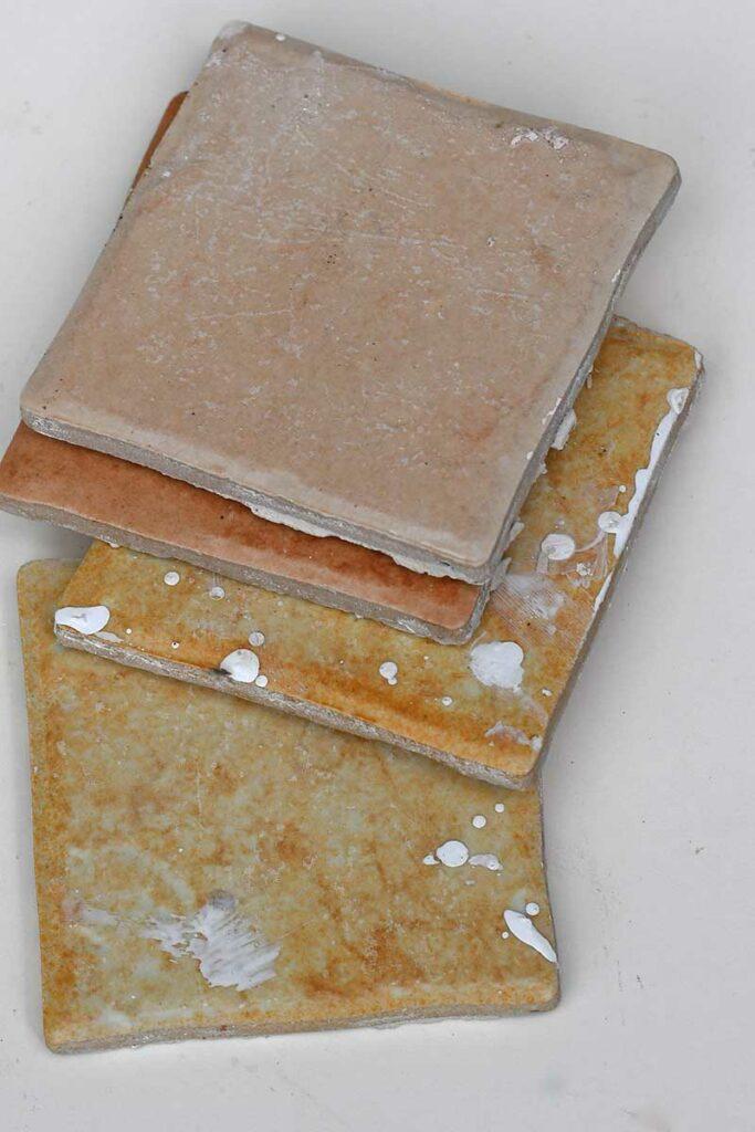 old ceramic tiles