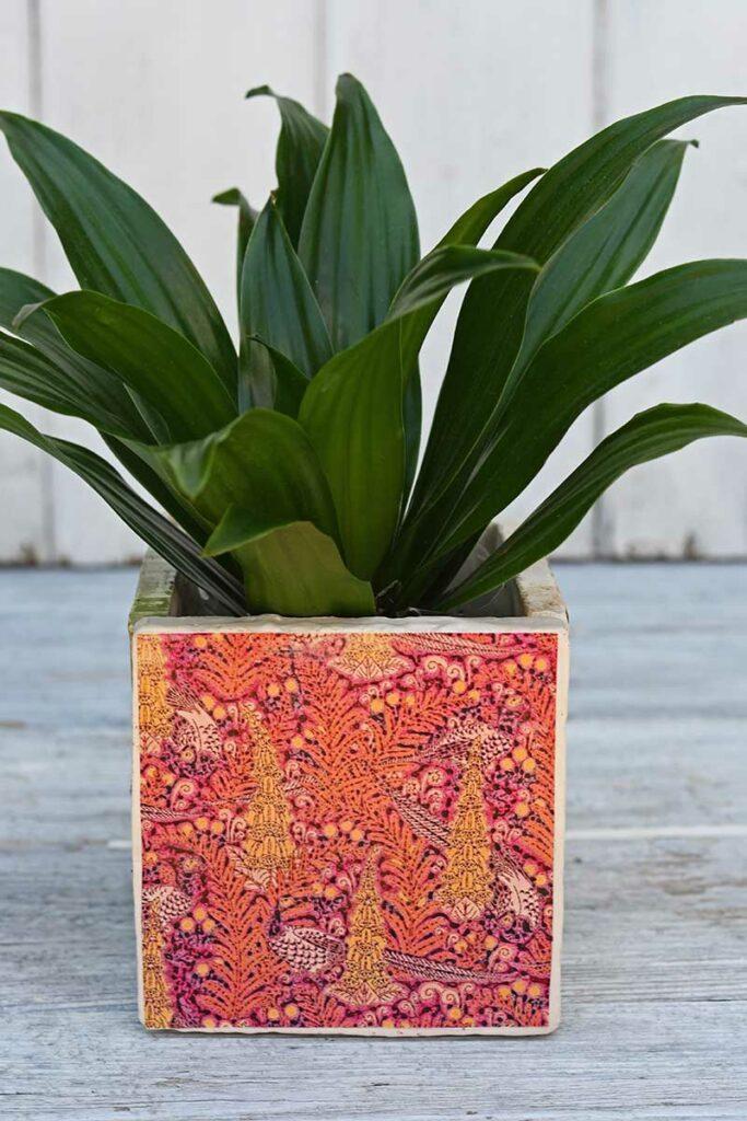DIY tile planter