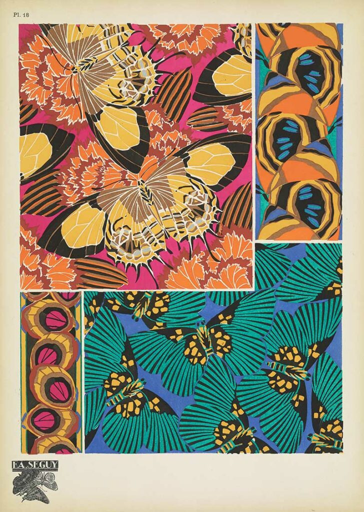 Antique Butterfly Wing Patterns 18
