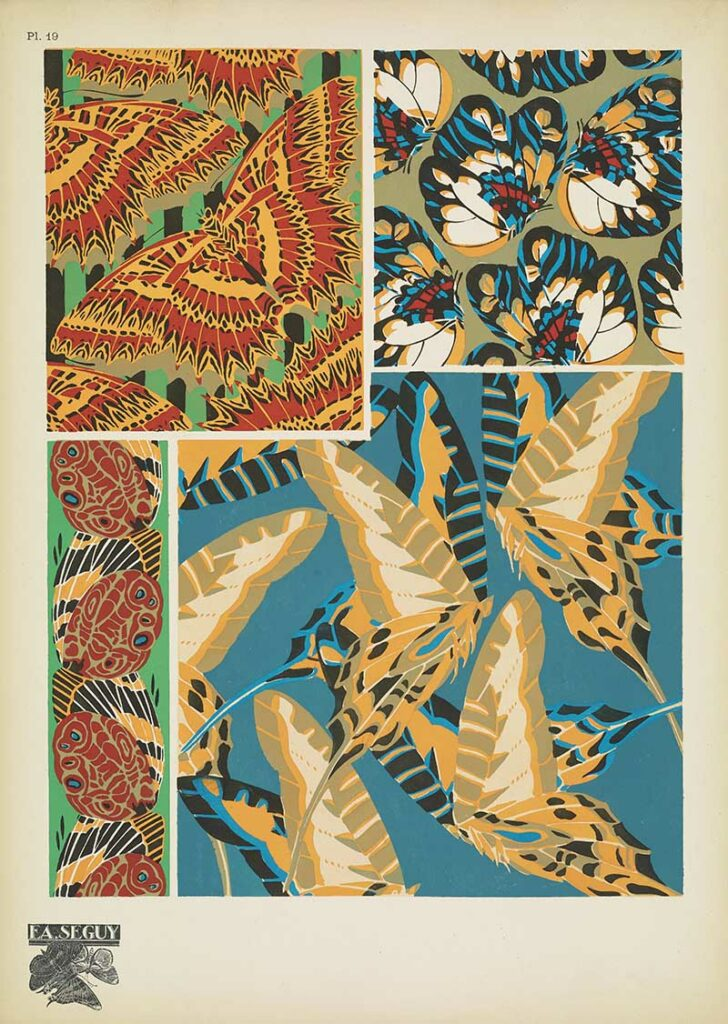 Antique Butterfly Wing Patterns 19