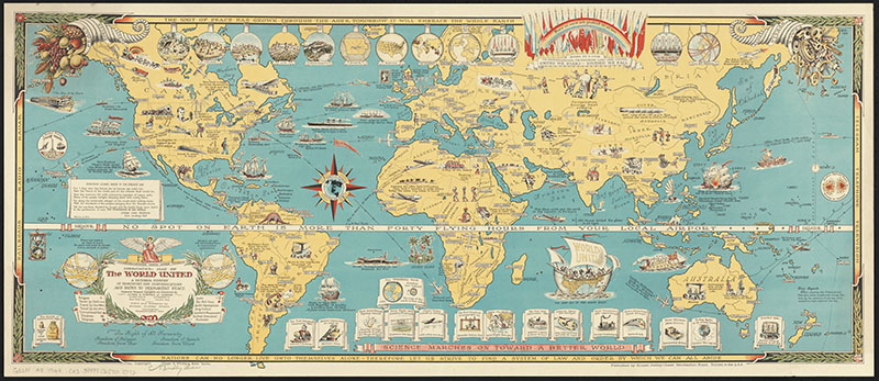 Chase Pictorial Map of the World
