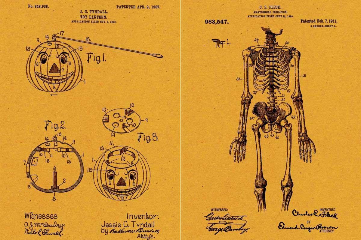 Halloween patent