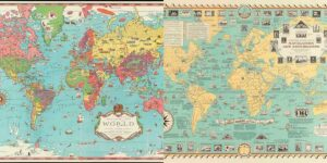 Pictorial World Maps Chase