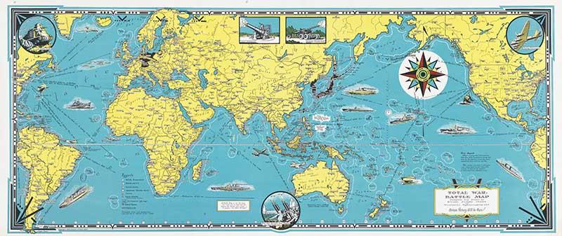 Total War Battle Map - Ernest Dudley Chase