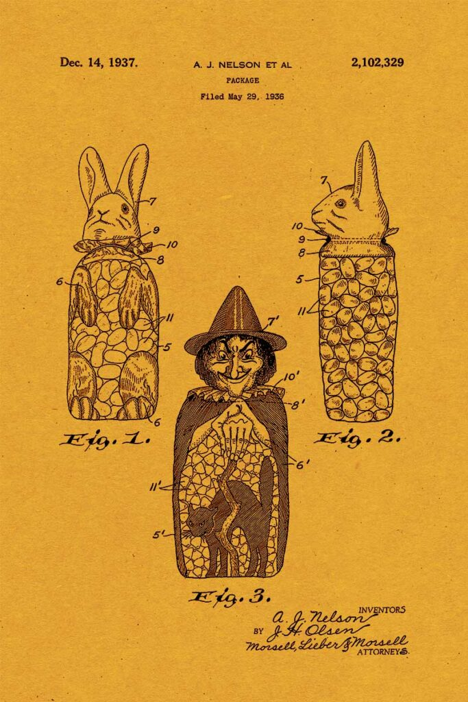 witch toy patent